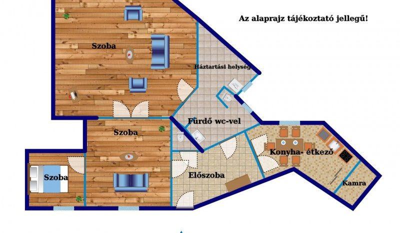 Eladó Lakás - Budapest VI. kerület  Bajcsy - Zsilinszky út