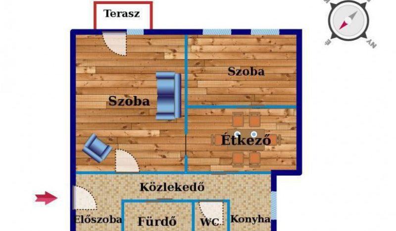 Eladó Lakás - Budapest XIII. kerület  Gyöngyösi utca
