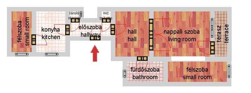 Eladó Lakás - Budapest XIII. kerület Újlipótváros Balzac utca