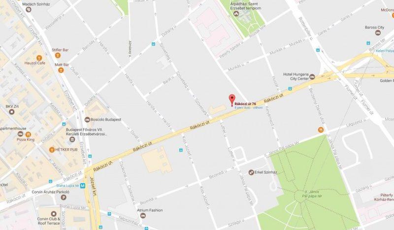 Kiadó Lakás - Budapest VII. kerület Középső-Erzsébetváros - Nagykörúton kívül Rákóczi út