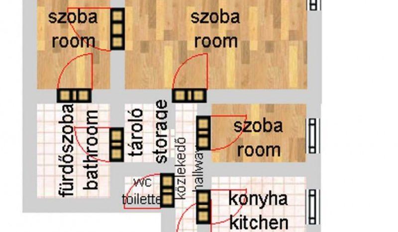 Eladó Lakás - Budapest V. kerület Belváros Semmelweis utca