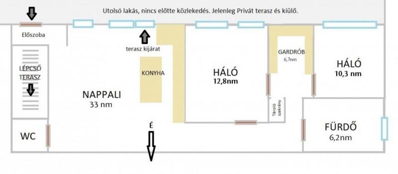 Eladó Lakás - Budapest II. kerület  Árpád Fejedelem útja