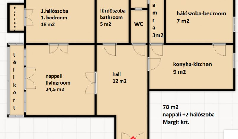 Kiadó Lakás - Budapest II. kerület Országút Margit körút